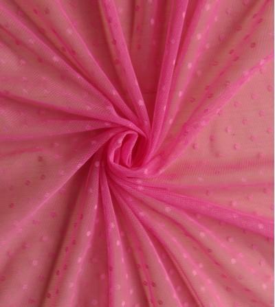 Tul plumeti rosa fucsia