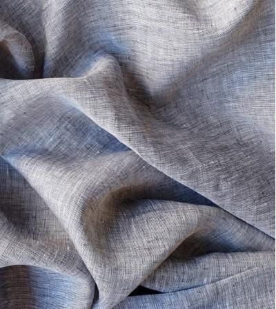 Tela de lino 100% gris...