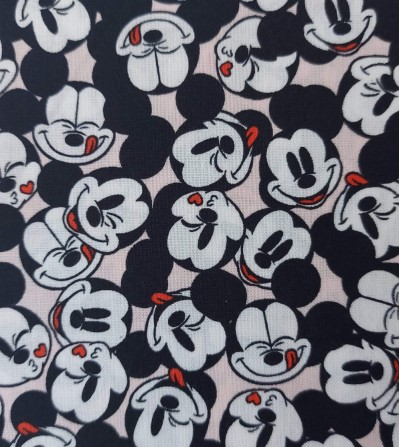 Tela de patchwork Mickey Mouse