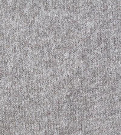Punto jersey de invierno gris