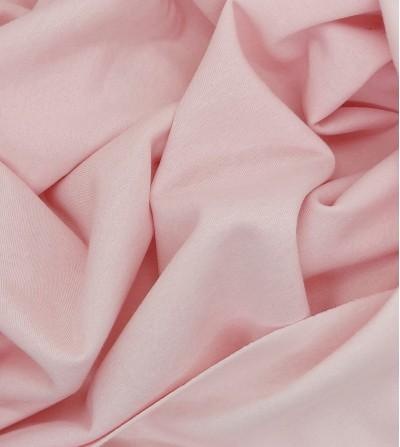 Punto sudadera afelpada rosa