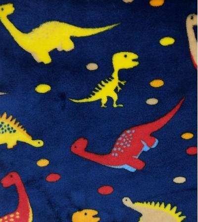 Coralina estampada dinosaurios