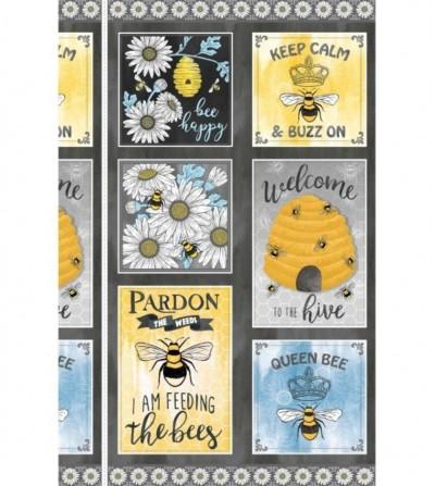 Panel Queen Bee Michael Miller