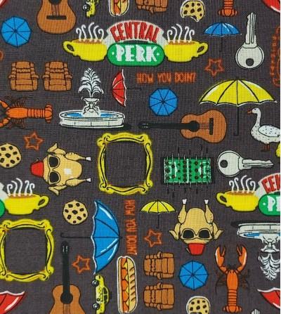 Tela de patchwork Friends -...