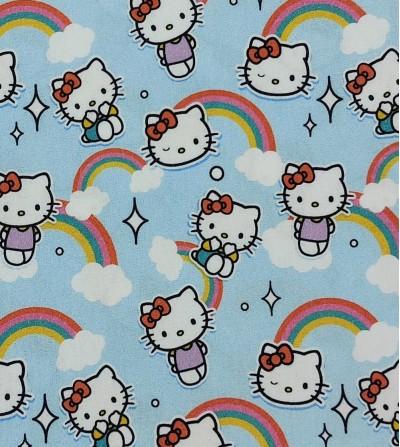 Tela de algodón Hello Kitty...