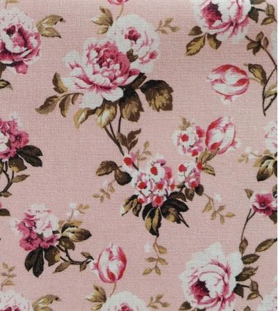 Loneta antimanchas rosas
