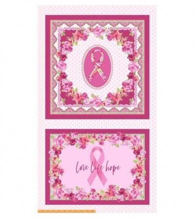 Panel love pink - lazo rosado