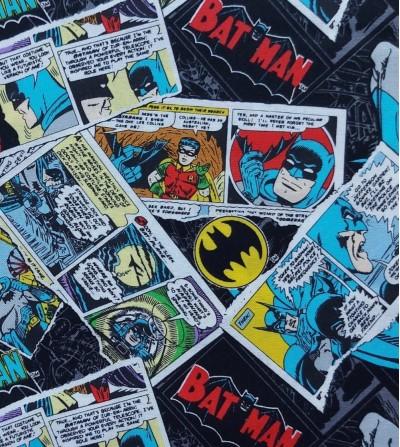 Tela de patchwork Batman