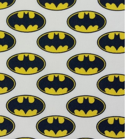 Tela de algodón Batman logo