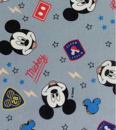 Tela de algodón Mickey Mouse