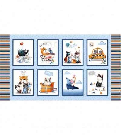 Panel Feline Friends...